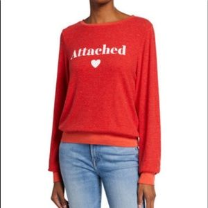 Wildfox Attached Baggy Beach Jumper